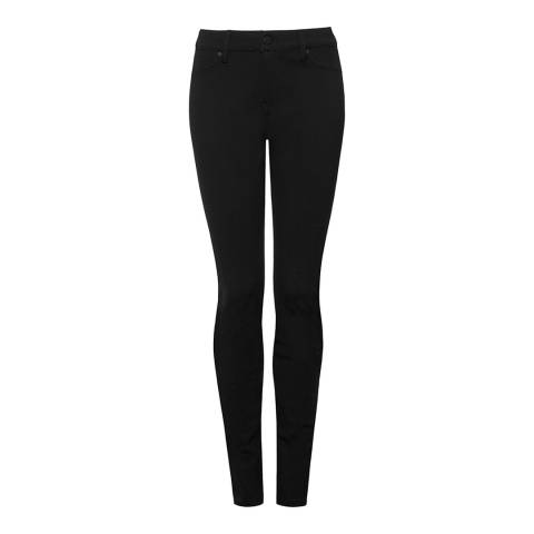 NYDJ Black Rinse Briana Skinny Cotton Stretch Jeans