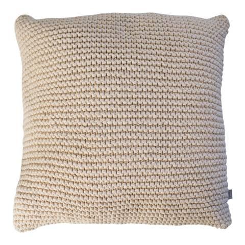 Gallery Blush Opal Knitted Cushion 45x45cm