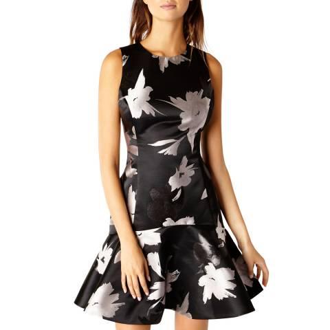 Coast Black Burford Jacquard Beatrix Dress