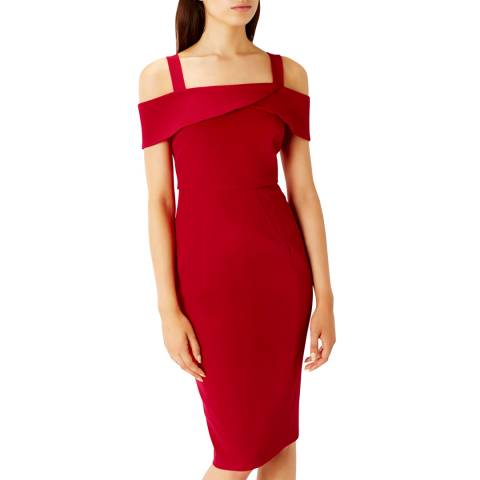 Coast Red Hortense Shift Dress