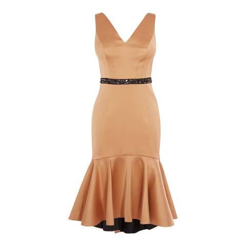 Coast Gold Ryanna Peplum Hem Dress