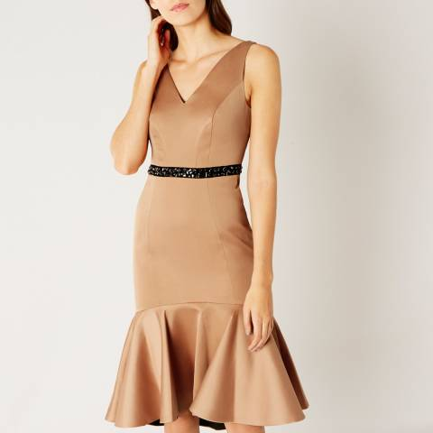 Coast Gold Ryanna Peplum Hem Dress