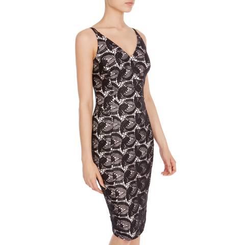 Coast Black Lace Malinka Shift Dress