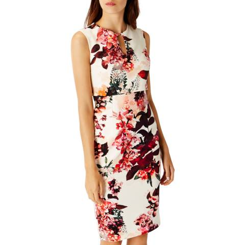 Coast White Livorno Print Latonya Dress