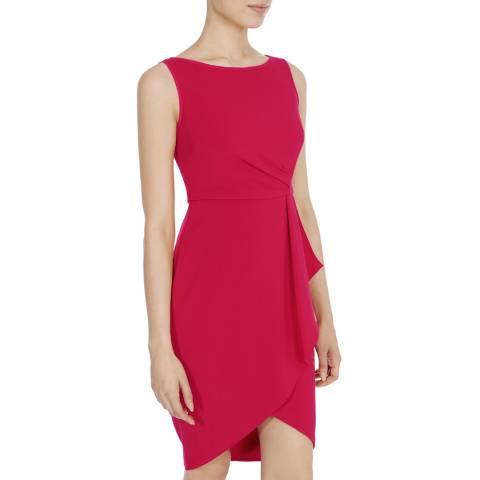 Coast Red Drew Crepe Dress