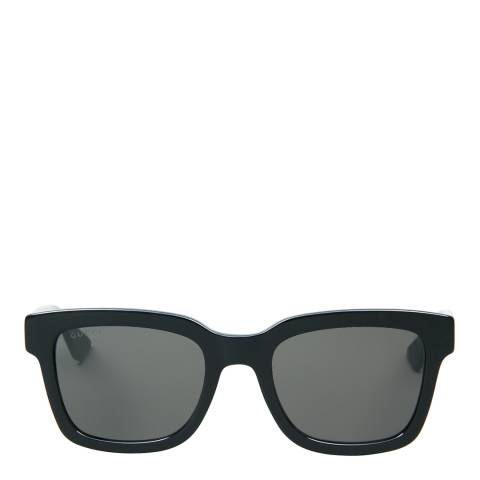 Gucci Women's Black /Black Smoke Sunglasses 52mm