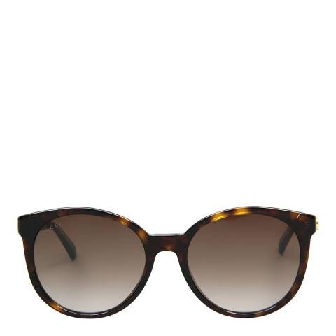 Gucci Women's Havana/Brown Gradient Sunglasses 54mm