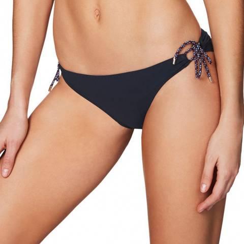 Stella McCartney Ink Blue Lacing Classic Bikini Briefs