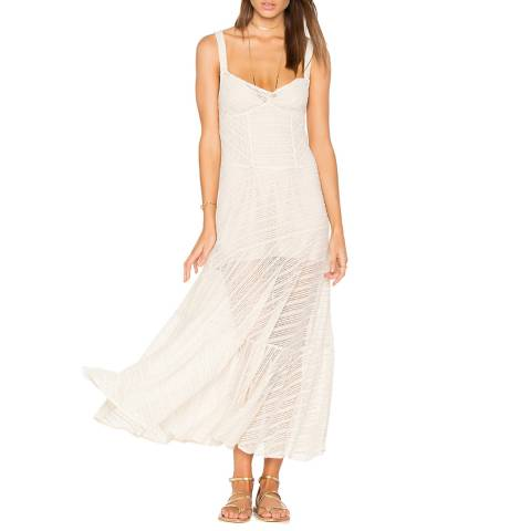 Free People Ivory Love Story Slip Dress