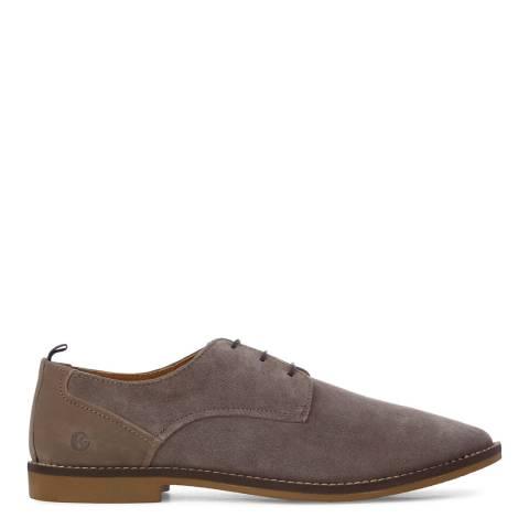KG Kurt Geiger Grey Suede Kettering 3 Eye Derby Shoes
