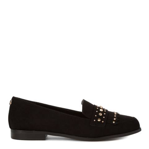 Carvela Kurt Geiger Black Metric Studded Loafers