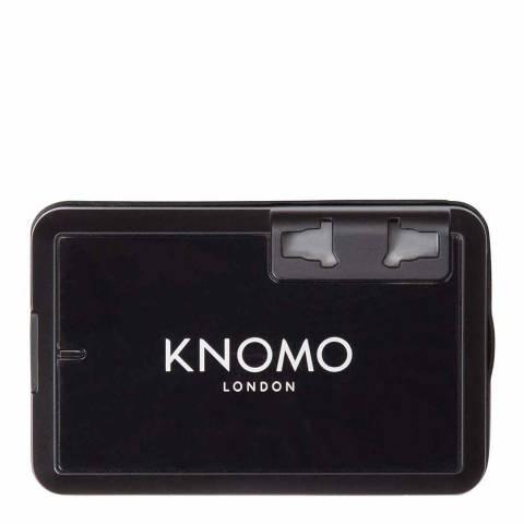 Knomo Black World Travel Adaptor