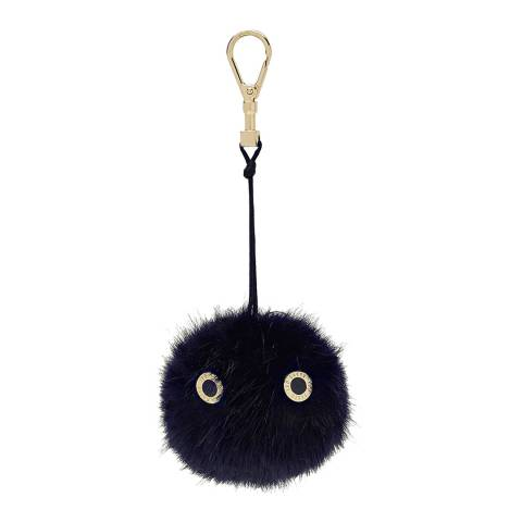 Ted Baker Navy Lucyy Fluffy Bag Charm