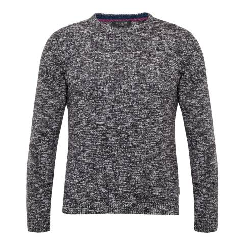 Ted Baker Grey Marl Knitted Jumper