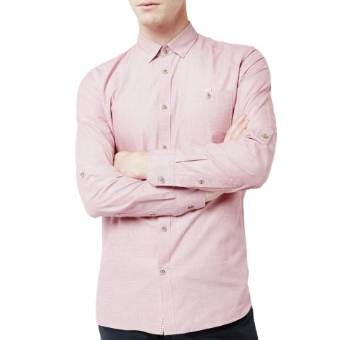 Ted Baker Pale Pink Cotton Shirt