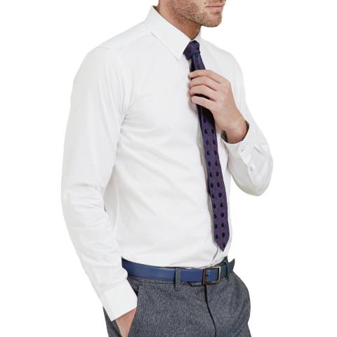 Ted Baker White Cotton Shirt