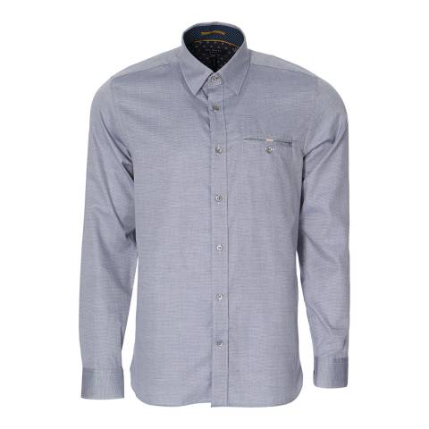 Ted Baker Pale Blue Cotton Shirt