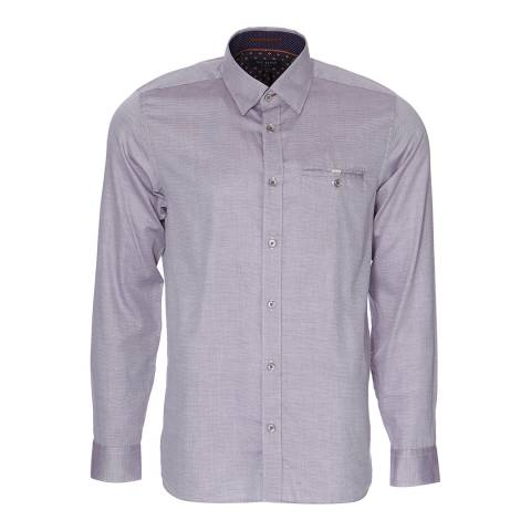 Ted Baker Grey Cotton Shirt