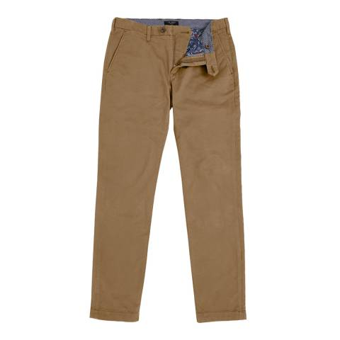 Ted Baker Brown Serny Slim Fit Chino