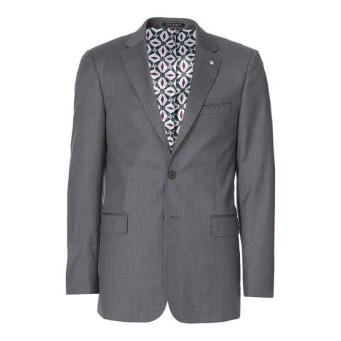 Ted Baker Grey Decdent Debonair Plain Suit