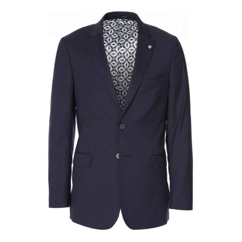 Ted Baker Navy Decdent Debonair Plain Suit