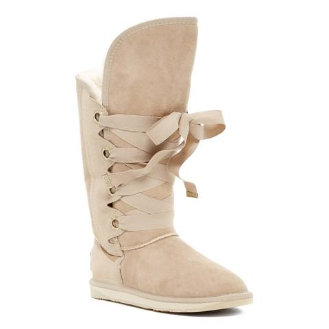 Australia Luxe Collective Sand Shearling Bedouin Short Boots