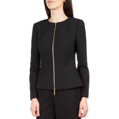 Ted Baker Black Fitted Jacket