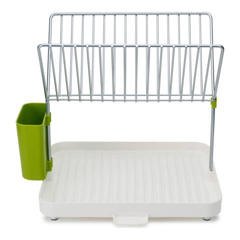Joseph Joseph White/Green Y Rack Dishdrainer