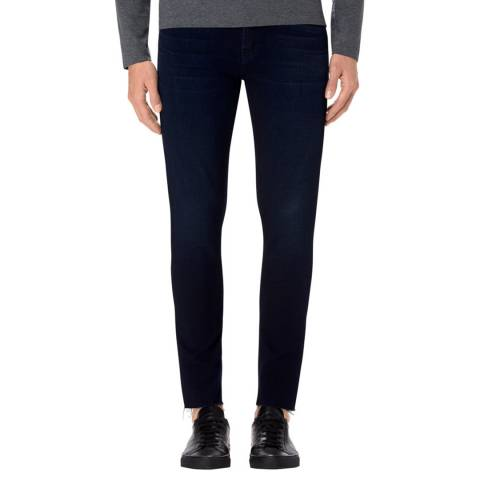 J Brand Merach Navy Mick Ankle Cut Skinny Stretch Jeans