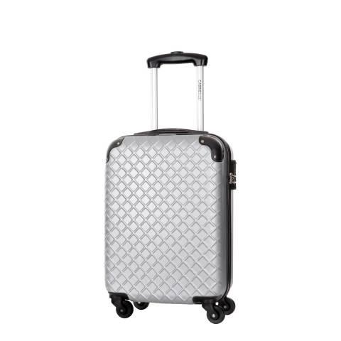 Cabine Size Silver Cabin Spinner Centaur Suitcases 48cm