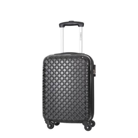 Cabine Size Black Cabin Spinner Centaur Suitcases 48cm