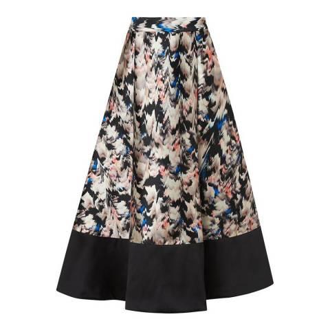 L K Bennett Multi Juana Wrap Skirt
