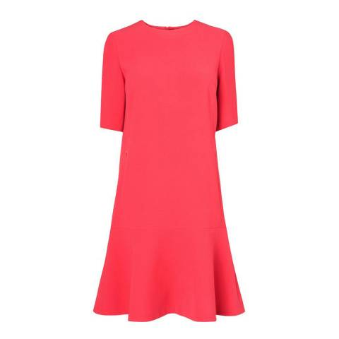 L K Bennett Bright Pink Pepper Cayenne Dress