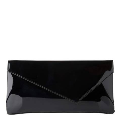 L K Bennett Black Leonie Clutch Bag