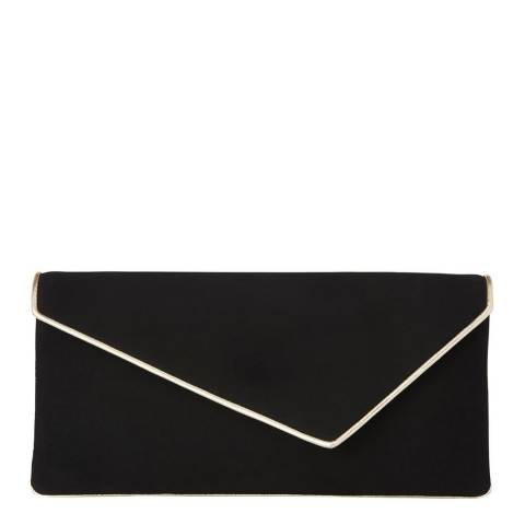 L K Bennett Soft Gold Leonie Clutch Bag