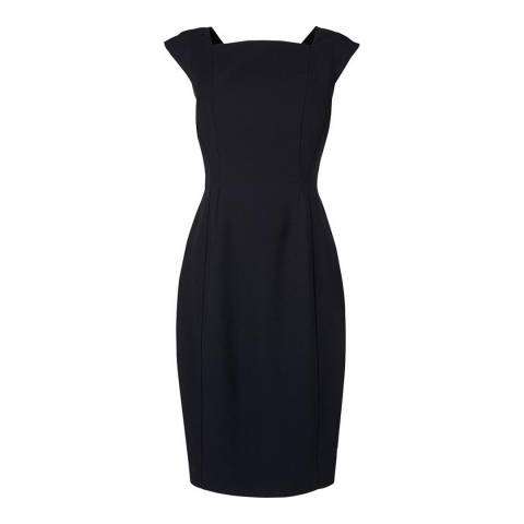 L K Bennett Dark Navy Sophia Suit Dress