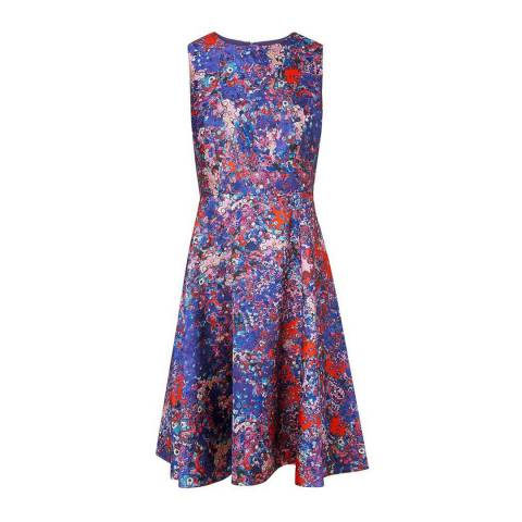 L K Bennett Multi Bruna Printed Dress