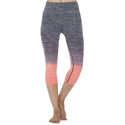 Electric Yoga Peach Faded Capri Leggings
