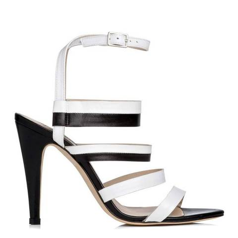 L K Bennett White Giselle Formal Sandals