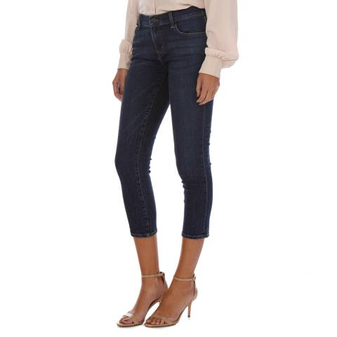 J Brand Blue Denim Sadey Slim Straight Jeans