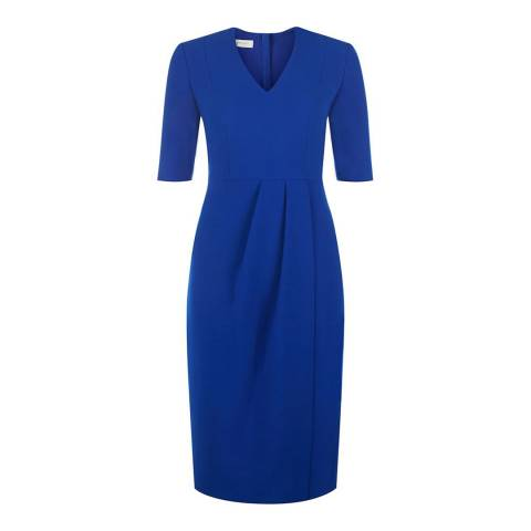Hobbs London Colbalt Blue Mariana Dress