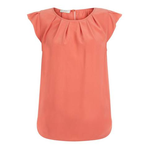 Hobbs London Peach Aria Top