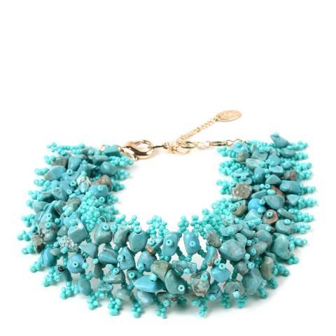 Amrita Singh Turquoise Alexandra Beaded Choker