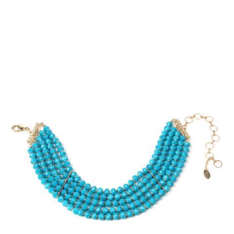 Amrita Singh Turquoise Bowery Choker