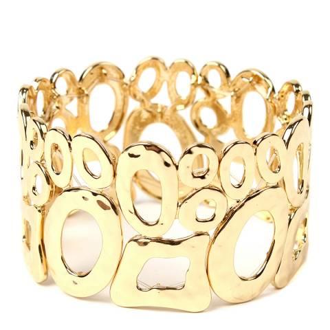 Amrita Singh Gold Barcelona Stretch Bracelet