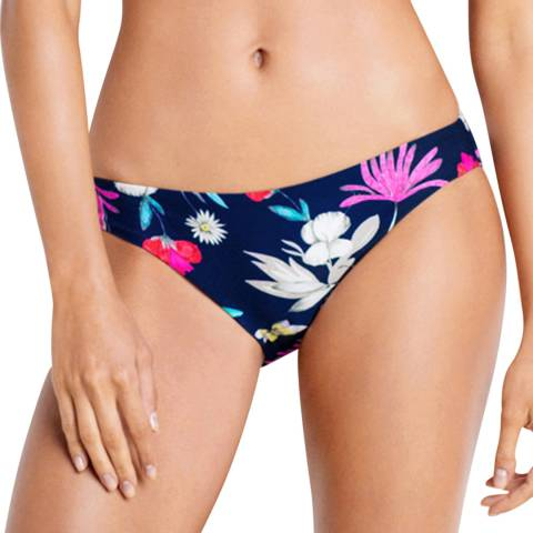 Seafolly Indigo Flower Festival Hipster Bottoms