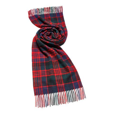Bronte by Moon Red Macdonald Tartan Scarf