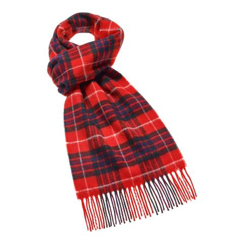Bronte by Moon Red Fraser Tartan Scarf