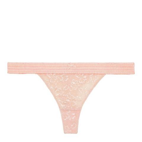 Pleasure State White Label Pale Pink Henrietta Whitehall Thong