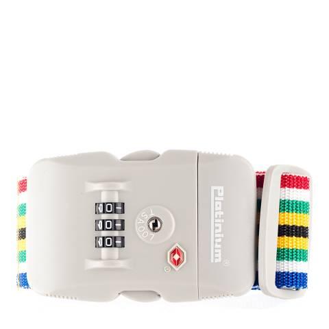 Platinium Multi Coloured Lock
